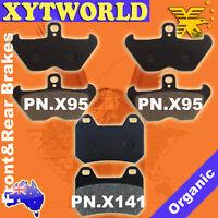 FRONT REAR Brake Pads BMW K 1200 LT ABS 1997 1998 1999 10/2000