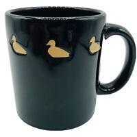 Spain Waechtersbach Mug Duck Mug Swimming Ducks Rare Black Vintage Coffee Mug