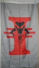 Mandalorian Boba Fett 3' x 5' Gray Flag Banner Star Wars - USA Seller Shipper