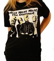 "The Damned ""Neat Neat Neat Single Cover"" T-Shirt - FREE SHIPPING"