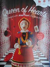 ALAN DART QUEEN OF HEARTS toy / mascot knitting pattern