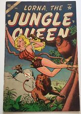 Lorna The Jungle Queen  #4 Atlas Comics Dec 1953