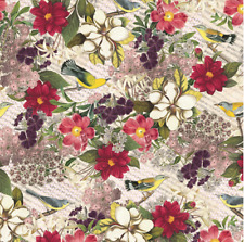 """Botanical Gift Wrap Tissue Paper-10 Large Sheets 20"""" by 30"""" Multi-colored"""