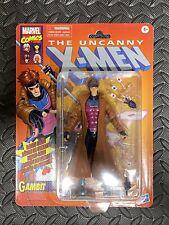 Marvel Legends Jim Lee GAMBIT figure retro 90s Beautiful Cardback NEW X-Men