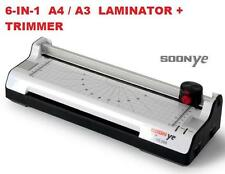 6-in-1 SOONYE Laminate / Laminating / Laminator A4 Size Machine