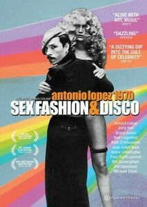 Antonio Lopez 1970: Sex Fashion & Disco [New DVD]