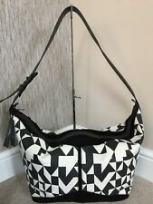 JEROME DREYFUSS UNISEX GEO PRINT CANVAS ABEL TOTE OVERNIGHT BAG RETAIL £650