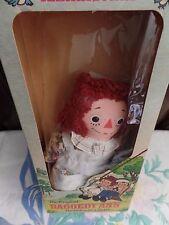 "NEW Raggedy Ann Knickerbocker Doll 1979 Original Doll with the Heart 12"" Dolls"