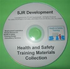 Health and Safety Training Course Materials CD Bundle Collection NEBOSH IOSH HSE