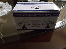Helping Hands with Magnifying Glass - 3 Pack (NEW)
