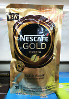 Nescafe Gold Crema Rich And Smooth Medium Dark Roast Coffee Mixed 35 grams
