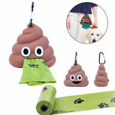 Dog Poop Bag Dispenser Eco-friendly Pet Waste Bag Holder Outdoor Portable US