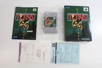 TETRIS 64 Boxed Nintendo 64 N64 Japan Import US Seller E1352 RARE