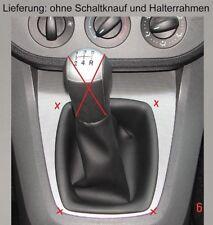 Ford Focus C-Max Echtes Leder Neu Schaltsack Schaltmanschette für Schaltknauf