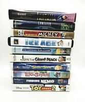 Lot Walt Disney VHS Home video Collection Clamshell Family Children Movies #5