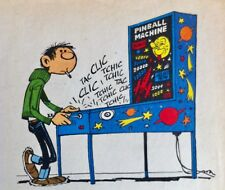FRANQUIN * THE PINBALL FLIPPER GASTON LAGAFFE * DUPUIS 1960 *