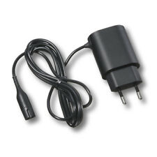 GENUINE BRAUN SERIES 3 5 7 9, 2 PIN SHAVER CHARGER LEAD CABLE. EU PLUG FITTED