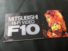 Madonna Virgin Tour Mitsubishi Japan Poster - SUPER RARE - Rebel Heart MDNA Skin