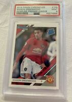 📈 RATED ROOKIE Mason Greenwood PSA 9 Donruss Panini Chronicles 2019-20 #109 RC