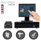 "12"" Touchscreen POS System for Salon Barbershop Parlor Shop Cash Register Till"