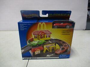 2001 Hot Wheels McDonald's Drive Thru with Corvette