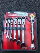 Craftsman 7pc Metric Locking Flex Ratcheting Wrench Set# 42401