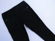 *D-153 TOMMY HILFIGER BLACK STRETCH BOOTCUT DENIM JEANS SZ US-6 AU-10