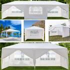 3X3/6/9M Garden Gazebo Marquee Party Tent Wedding Canopy Shade Outdoor 8 Sizes