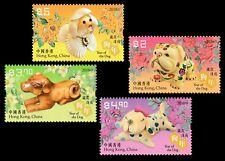 Hong Kong Lunar New Year Dog stamp set MNH 2018