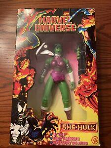 """She Hulk - 10"""" Inch  Action Figure - Marvel Universe - X-Men 1997 Vintage"""