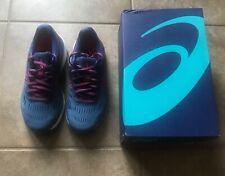 New ASICS Women's Gel-Cumulus 20 Running Shoe, Azure/Blue Print Sz 6