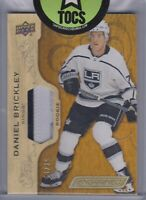 Daniel Brickley 2018-19 UD Engrained Rookie Patch 31/35 LA Kings
