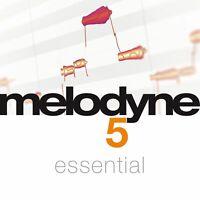 Celemony Melodyne 5 Essential - Genuine License Serial - Digital Delivery