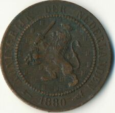 COIN / THE NETHERLANDS / 2 1/2 CENT 1880  #WT8024