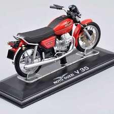 1/22 Scale Moto Guzzi V35 Motorcycle Motorbike Italeri Diecast Model Toy
