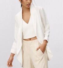 NEW with tags Aritzia Wilfred Chevalier Blazer Jacket [White] [Oak] - Size 0