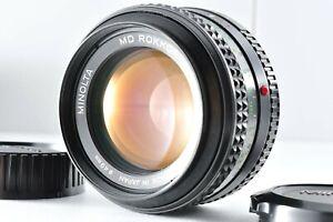 Minolta MD Rokkor 50mm F1.4 MF Standard Lens E101401