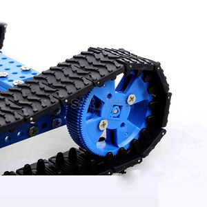 Crawler Tank Track Size 14.5*3cm For Robotic Car Model Wheels Toy Model Gifts