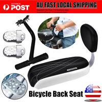 Back Rear Rack Bike Bicycle Luggage Seat Post Frame Carrier Holder Racks Cushion