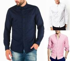 Cotton Patternless Dry-clean Only Formal Shirts for Men