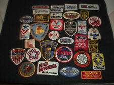Company Advertising Vintage 1970-80's Patches Wholesale Lot of 32  Lot # 3