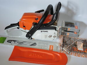XX Stihl MS 261 C-M MS261 Motorsäge Forstsäge + Schwert +  Sägekette NEU