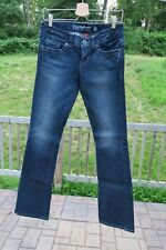 Guess Daredevil Boot Jeans Dark Blue Wash 28 Women NEW