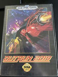 OutRun 2019 (Sega Genesis, 1993)