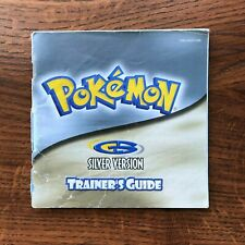 Pokemon Silver Version Trainers Guide Nintendo Gameboy Instruction Manual Only