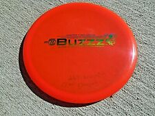 N - RARE BAR STAMP DISCRAFT ELITE Z BUZZZ DISC GOLF MID RANGE RED / RAINBOW 174G