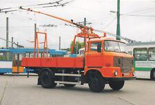 Postkarte: IFA W50 L Fahrdrahtenteisungswagen für Obus Eberswalde