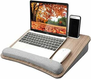 HUANUO Lap Laptop Desk - Portable Lap Desk with Pillow Cushion Fits up to 15....