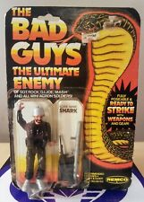 THE BAD GUYS THE ULTIMATE ENEMY SHARK ACTION FIGURE 1982 REMCO NEW SEALED GOOD