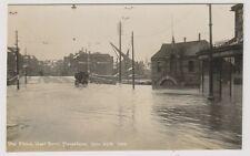 Kent postcard - The Flood, West Boro', Maidstone, 27th Dec 1927 - RP
